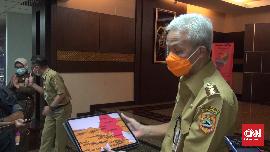 Ganjar Pranowo Sebut Kasus Aktif Covid Jateng Naik 100 Persen