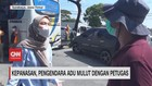 VIDEO: Kepanasan, Pengendara Adu Mulut Dengan Petugas