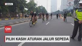 VIDEO: Pilih Kasih Aturan Jalur Sepeda