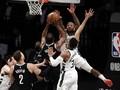 FOTO: Nets Unggul 2-0 Atas Bucks di Playoff NBA