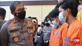 Total Enam Pengeroyok TNI AL di Bungurasih Ditangkap