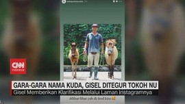 VIDEO: Gara-Gara Nama Kuda, Gisel Ditegur Tokoh NU