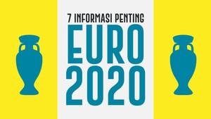 INFOGRAFIS: 7 Informasi Penting Euro 2020