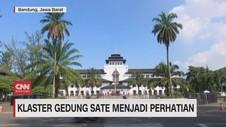 VIDEO: Klaster Gedung Sate Menjadi Perhatian