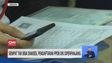 VIDEO: Sempat Tak Bisa Diakses, PPDB DKI Diperpanjang