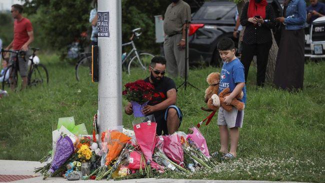 Aksi terorisme menambah daftar dakwaan terhadap penabrak satu keluarga muslim hingga tewas di Kanada, Nathaniel Veltman.