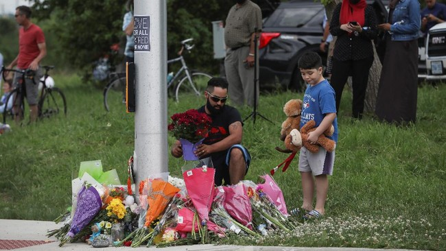 Penabrak Satu Keluarga Muslim Kanada Didakwa Pasal Terorisme