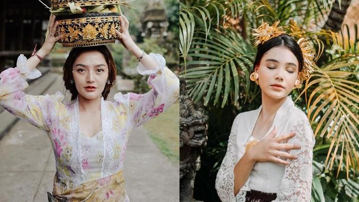 Inspirasi Warna Kebaya Bali ala Selebriti Tanah Air, Anggun dan Cantik