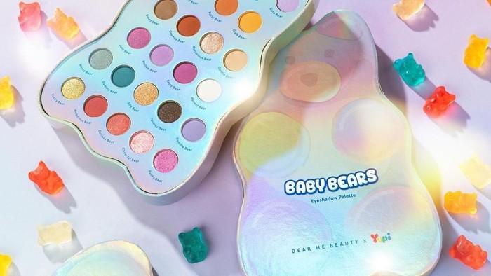 Racun Baru Bikin Gemas, Dear Me Beauty x Yupi Luncurkan Baby Bears Eyeshadow Palette