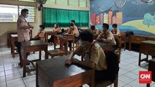 DKI Tambah 890 Sekolah Belajar Tatap Muka Akhir September