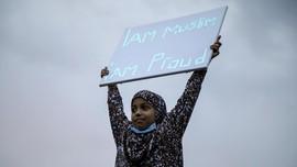 Keluarga Muslim Jadi Korban Islamofobia, Warga Kanada Demo