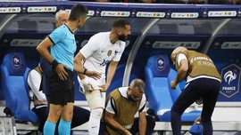 Jelang Euro 2020, Timnas Prancis Waswas Usai Benzema Cedera