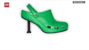 VIDEO: Crocs Heels, Inovasi Sandal Karet dengan Hak Tinggi
