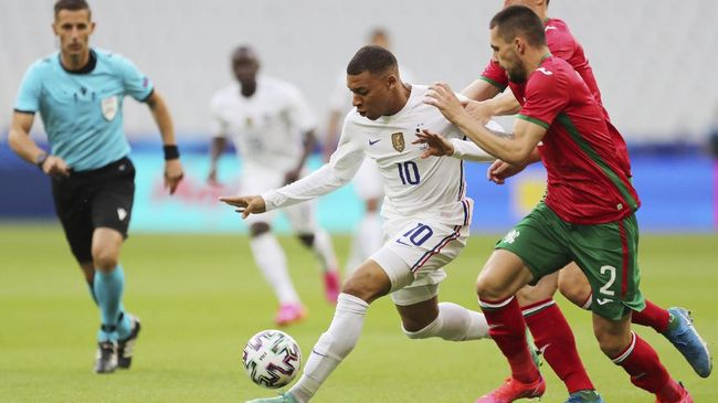 Berikut prediksi Prancis vs Jerman pada laga perdana Grup F Euro 2020 yang akan digelar di Allianz Arena, Rabu (16/6) dini hari WIB.
