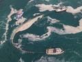 FOTO: Ketika Turki Bersih-bersih Wabah Ingus Laut di Marmara