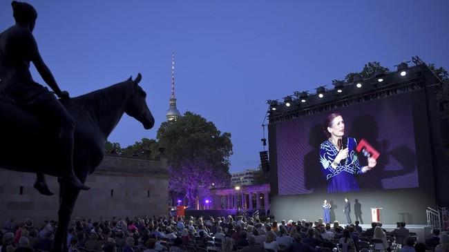 Situasi pandemi tak menghalangi penyelenggaraan Berlin Internasional Film Festival alias Berlinale, salah satu festival film besar di Eropa.