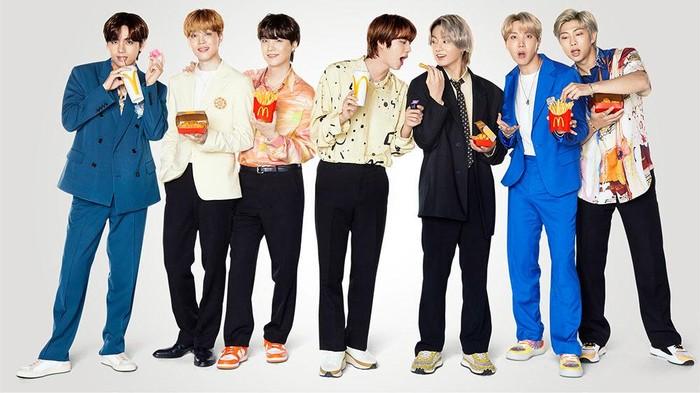 Kolaborasi McDonald's dengan BTS,  Menu BTS Meal Ini Bisa Kamu Coba!