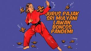 INFOGRAFIS: Jurus Pajak Sri Mulyani Lawan Boncos Pandemi