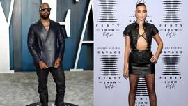 Kanye West Dirumorkan Pacaran dengan Irina Shayk