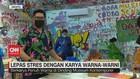 VIDEO: Lepas Stres Dengan Karya Warna-Warni