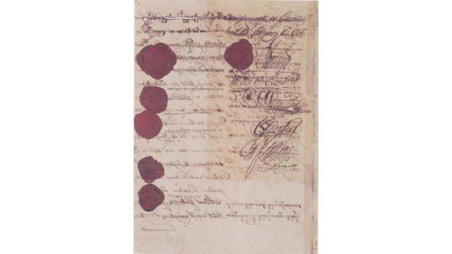 Perjanjian Giyanti adalah perjanjian antara VOC dan Kerajaan Mataram yang ditandatangani pada 13 Februari 1755.