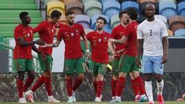 FOTO: Portugal Bantai Israel Jelang Euro 2020