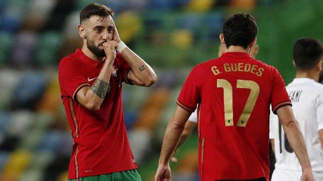 Jose Mourinho mengkritik tajam gelandang timnas Portugal Bruno Fernandes jelang melawan Prancis di Euro 2020 (Euro 2021).