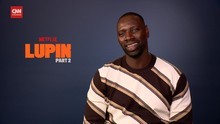 VIDEO: Kata Omar Sy Soal Pesan Sosial dan Semesta Lupin