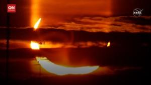 VIDEO: Menyaksikan Fenomena Gerhana Matahari Cincin