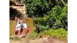 Siswa SD Flying Fox, KPAI Dorong Dana Desa untuk Jembatan