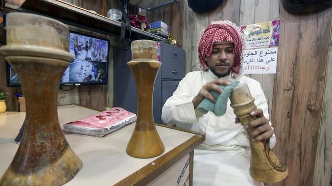 Mengenal dendang musik dan tari Khashaba dari Irak dengan alat musik khas negara tersebut, Khishba.