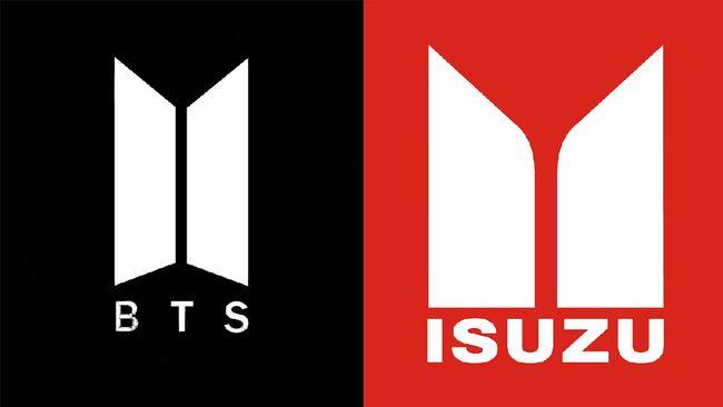 Usai viral BTS Meal kemarin, kini Netizen ramai membahas logo BTS di BTS Meal yang mirip logo Isuzu.