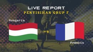 LIVE REPORT EURO 2020: Hungaria vs Prancis