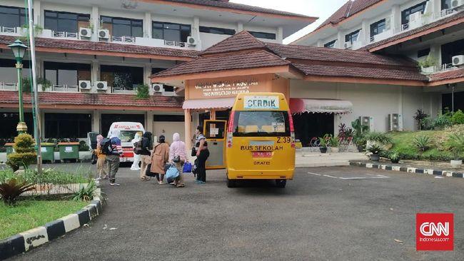 Graha Wisata Ragunan, Jaksel, mulai terisi para OTG Covid-19 yang menjalani program isolasi setelah biaya hotel dihentikan BNPB.