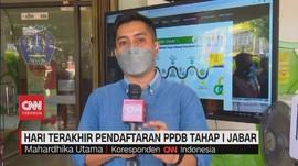 VIDEO: Hari Terakhir Pendaftaran PPDB Tahap I Jabar