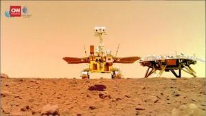 VIDEO: China Pamer Gambar Terbaru dari Mars
