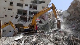 VIDEO: Dibantu Mesir, Gaza Mulai Bangkit Dari Kehancuran