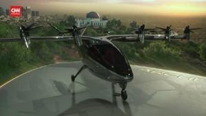 VIDEO: Archer Aviation Pamerkan Taksi Terbang Tenaga Listrik