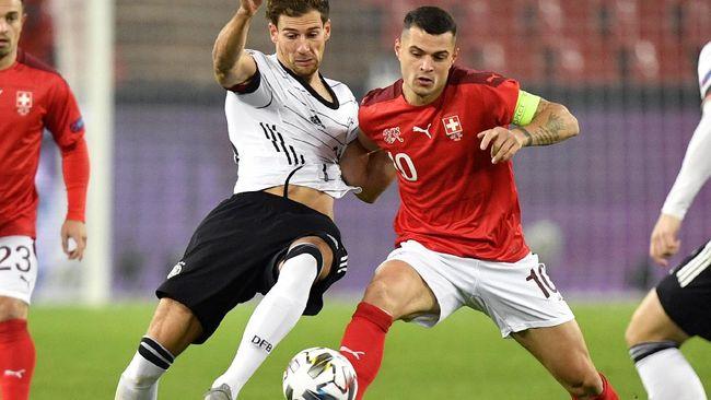 Timnas Wales akan berhadapan dengan timnas Swiss di Grup A UEFA Euro 2020 (Euro 2021). Berikut ini jadwal pertandingan Wales vs Swiss.