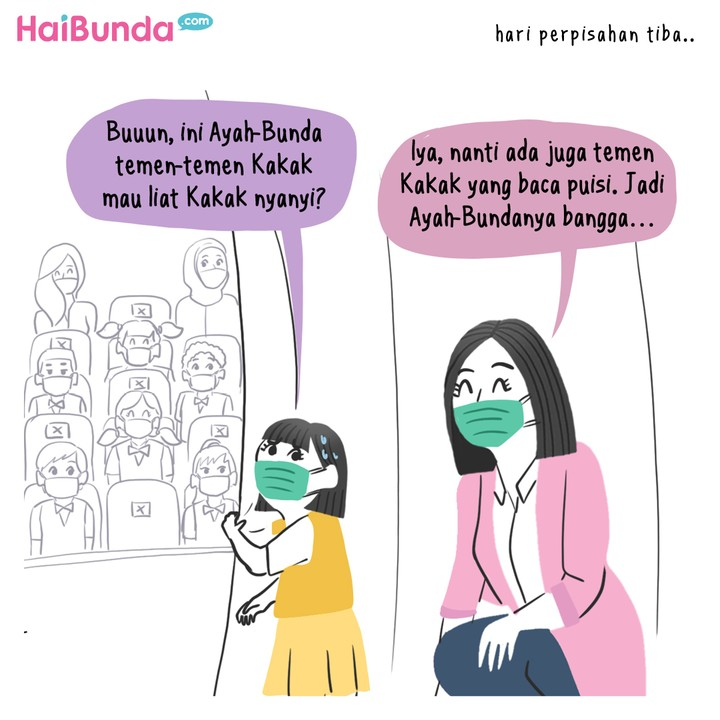 Komik Kakak Tampil di Perpisahan Sekolah