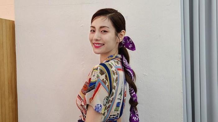 9 Ide Style Model Rambut Panjang ala Nana After School
