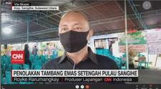 VIDEO: Penolakan Tambang Emas Setengah Pulau Sangihe