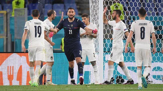 Italia akan melawan Swiss di Euro 2020 (Euro 2021). Berikut fakta menarik jelang laga Italia vs Swiss.