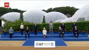 VIDEO: Momen Ratu Elisabeth II Ditertawai Pemimpin G7