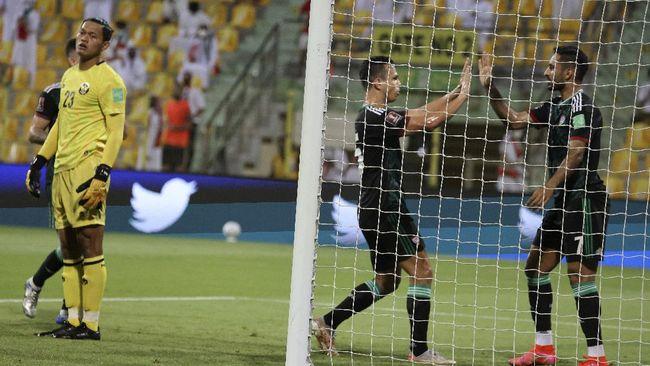 Pelatih timnas UEA Bert van Marwijk mengungkap kata-kata yang membuat timnya termotivasi untuk membantai Indonesia 5-0 pada Kualifikasi Piala Dunia 2022.