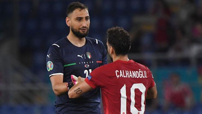 Gianluigi Donnarumma tak banyak kerja keras di balik keberhasilan Italia belum kebobolan di Euro 2020 (Euro 2021) sejauh ini.