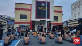 100 Preman Makassar Diamankan Usai Terbit Instruksi Kapolri