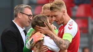 Simon Kjaer, Kapten Denmark Penyelamat Nyawa Eriksen