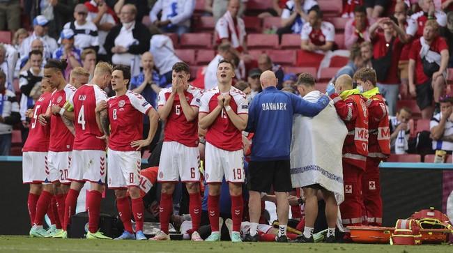 Kesaksian Dokter Penyelamat Eriksen Pingsan di Euro 2020