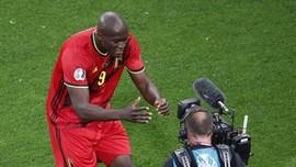 Ikatan Cinta Lukaku pada Eriksen Usai Cetak Gol di Euro 2020
